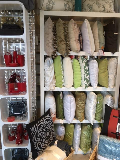Du nouveau à la boutique de la décoration de la falaise